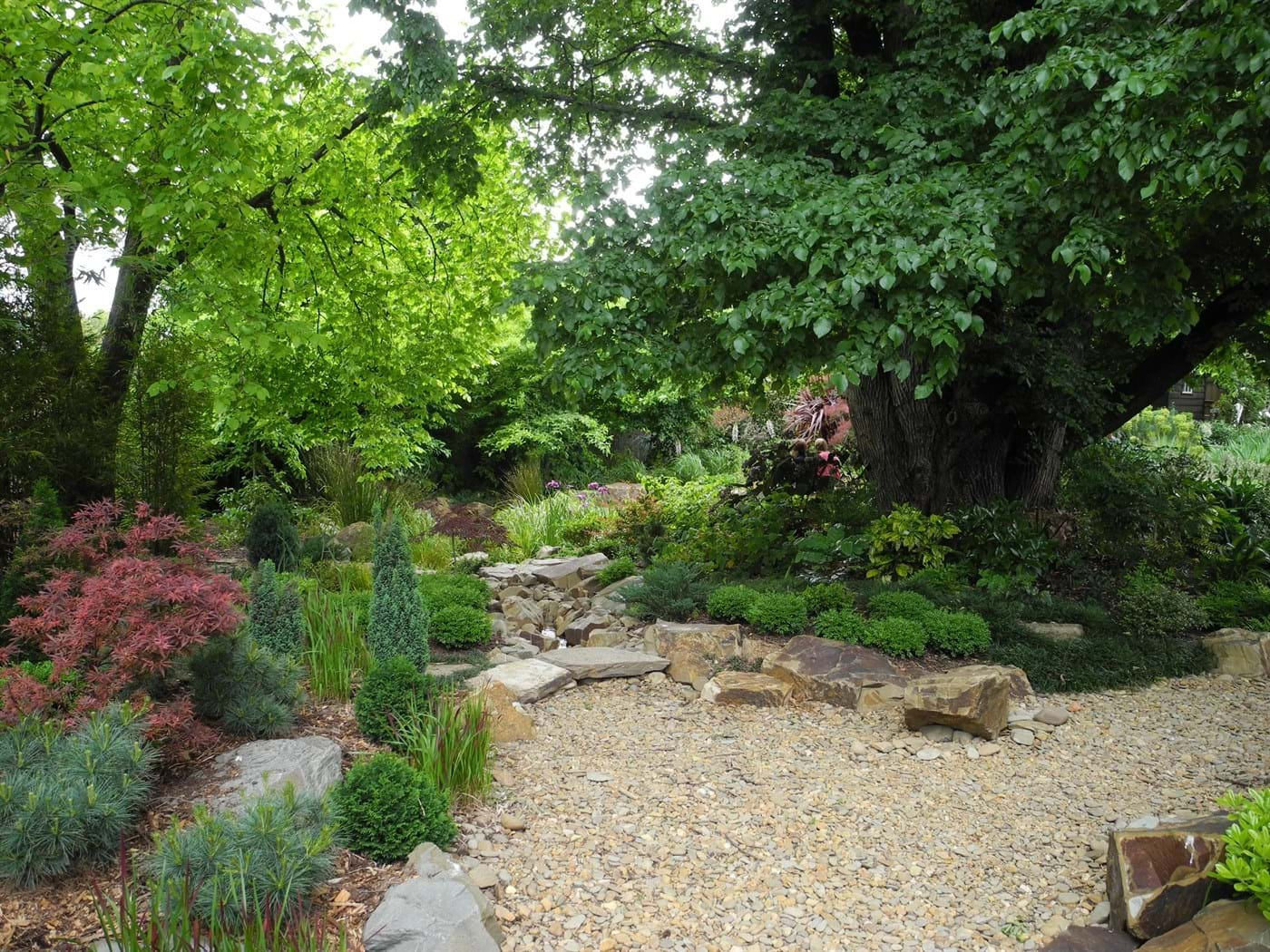 Landscape Design Melbourne Sandra Mcmahon Gardenscape Design Woodcote Arts Crafts Revival